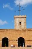 Montjuic castle, Barcelona Stock Photography