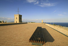 Montjuic Castle, Barcelona, Catalonia, Spain Royalty Free Stock Photos