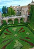Montjuic Castle Gardens stock image