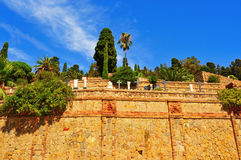 Montjuic Cemetery in Barcelona, Spain Stock Photo