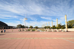 Montjuic Communications Royalty Free Stock Photo