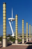 Montjuic Communications Tower Royalty Free Stock Photos