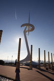 Montjuic Communications Tower at barcelona olympic park Stock Image