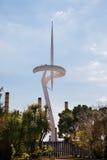 Montjuic Fernsehturm Lizenzfreie Stockbilder