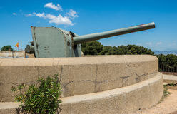 Montjuic fortress Royalty Free Stock Images