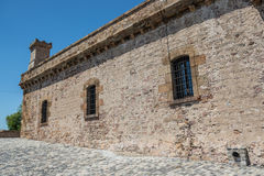 Montjuic fortress Royalty Free Stock Photo