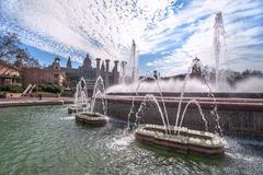 At Montjuic Royalty Free Stock Photo