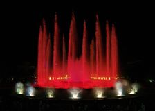 Montjuic (magic) fountain in Barcelona #4 stock image