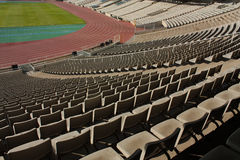 montjuic olympic stadion Royaltyfria Foton