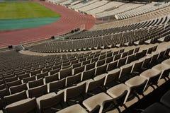 Montjuic Olympic stadium Royalty Free Stock Photos