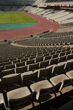 Montjuic Olympic stadium Stock Images