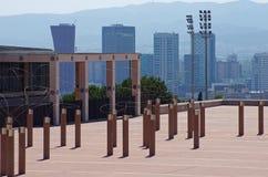 Montjuic - parco Barcellona olimpica Fotografie Stock Libere da Diritti