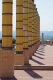 Montjuic - parco Barcellona olimpica Immagine Stock