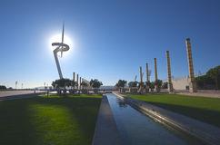 Montjuic Park, Barcelona, Spain Stock Photo