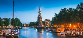 Montlebaanstoren Tower, Amsterdam Stock Images