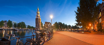 Montlebaanstoren Tower, Amsterdam Stock Images
