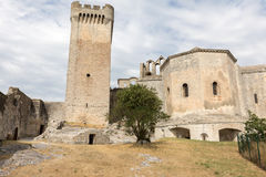 Montmajour-Abtei nahe Arles Provence Frankreich Lizenzfreie Stockfotos