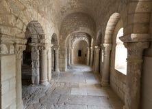 Montmajour-Abtei nahe Arles Provence Frankreich Stockfotos