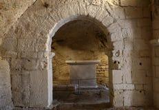 Montmajour-Abtei nahe Arles Provence Frankreich Lizenzfreies Stockfoto