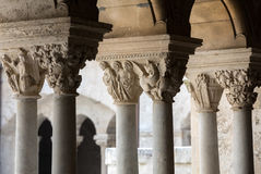 Montmajour-Abtei nahe Arles Provence Frankreich Lizenzfreies Stockbild