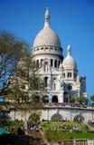 Montmarte-Basilika Stockfotos