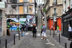 Montmartre,巴黎 图库摄影