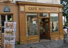 Montmartre à Paris Image stock