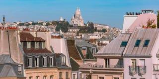 Montmartre à Paris, France images libres de droits