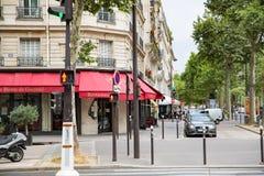 montmartre οδοί του Παρισιού Στοκ εικόνα με δικαίωμα ελεύθερης χρήσης
