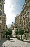 montmartre οδοί του Παρισιού Στοκ φωτογραφία με δικαίωμα ελεύθερης χρήσης