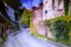 montmartre οδοί του Παρισιού Στοκ Εικόνες