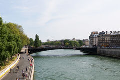montmartre οδοί του Παρισιού Στοκ εικόνες με δικαίωμα ελεύθερης χρήσης