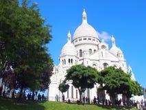 Montmartre - Παρίσι, Γαλλία Στοκ εικόνες με δικαίωμα ελεύθερης χρήσης