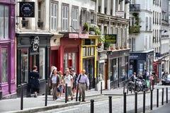 montmartre Παρίσι Στοκ εικόνες με δικαίωμα ελεύθερης χρήσης