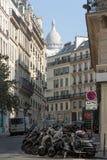 Montmartre в Париж Стоковая Фотография RF
