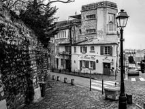 Montmartre royalty-vrije stock foto