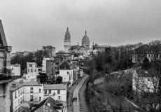 Montmartre stock afbeeldingen