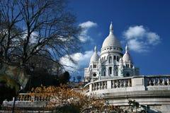 Montmartre. Famous Montmartre church in Paris Royalty Free Stock Photos