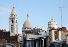 Montmartre Stock Photography