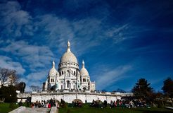 Montmartre Images libres de droits