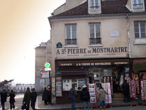 Montmartre Stockfoto
