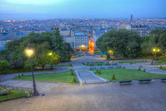 montmartre巴黎 免版税库存图片