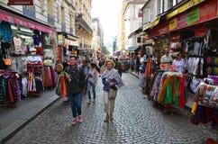 Montmartre在巴黎 免版税库存照片