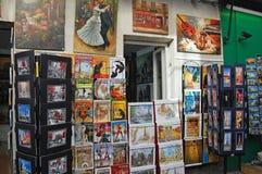 Montmartre art Stock Images