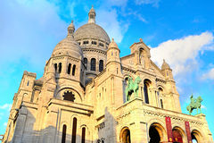 Montmartre Basilica, Paris Stock Images