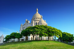 Montmartre - Basilica Sacre Coeur Stock Photo