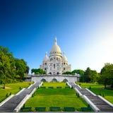 Montmartre - Basilica Sacre Coeur Stock Photos