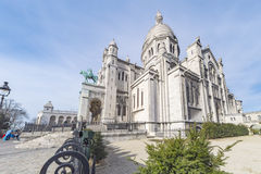 Montmartre, basilique de Sacré-coeur Image stock