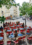 Montmartre Cafe, Paris Royalty Free Stock Photos