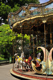 Montmartre carousel - Paris Royalty Free Stock Photography